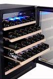 Wijnkoelkast SW 51 met uitschuifbare wijnrekken