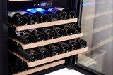 Wijnkoelkast uitschuifbare wijnrekken
